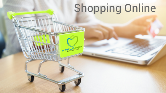 Shopping online Applejack Marketing