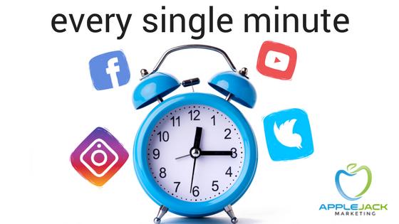 every single minute Applejack Marketing