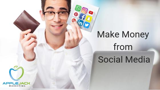 Make Money from Social Media Applejack Marketing