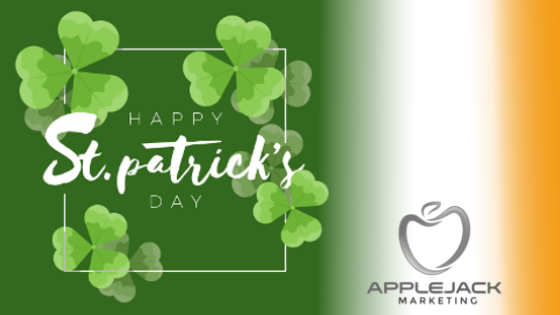 St Patrick's Day Applejack Marketing