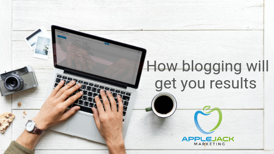 How blogging will get you results applejack