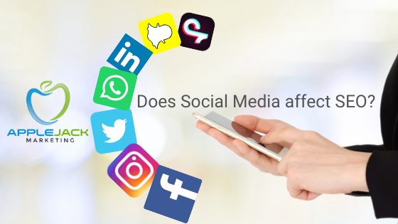 Does social media affect seo applejack marketing