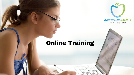 Online training applejack marketing