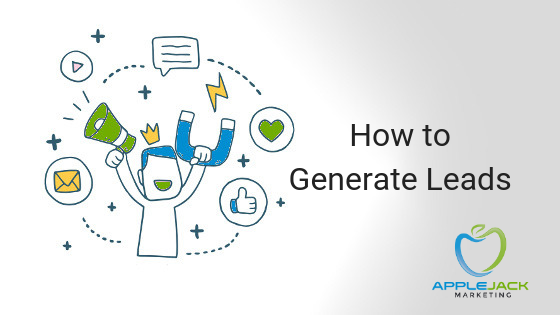 how to generate leads Applejack Marketing