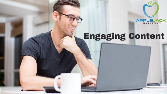 Engaging Content applejack marketing