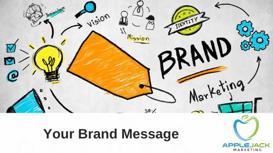 your brand message Applejack Marketing