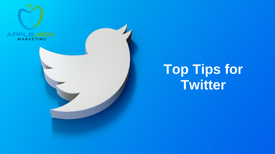 Top tips twitter applejack marketing